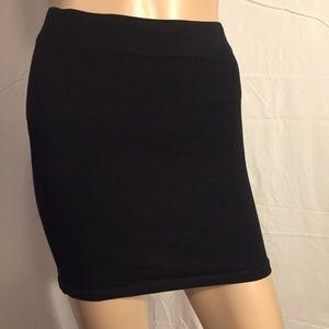Black Miniskirt, Divided | H&M, Size 6